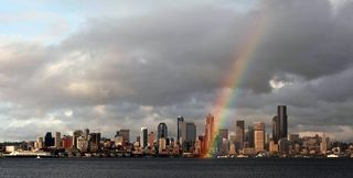 Seattle Rainbow, weather.com